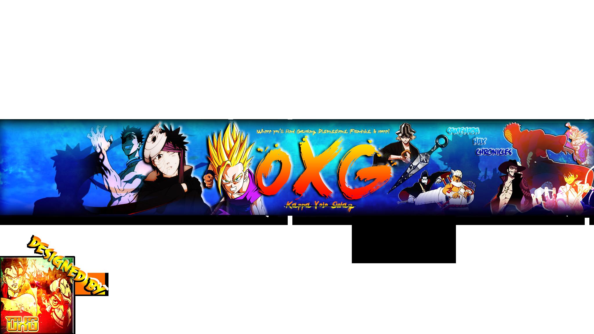Banner Para Youtube 2048x1152 Anime